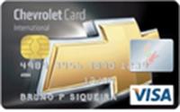 Cartão Chevrolet Card Banco do Brasil Visa Internacional