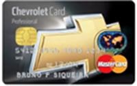 Cartão de Crédito Chevrolet Card Professional Banco do Brasil MasterCard