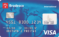 Cartão de Crédito Bradesco Visa Internaciona