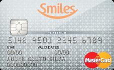 Cartão de Crédito Bradesco Smiles MasterCard® Platinum