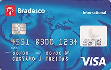 Cartão de Crédito Bradesco Visa Internacional