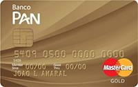Cartão PAN MasterCard Gold