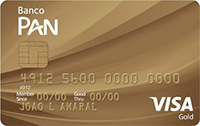 Cartão PAN Visa Gold